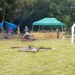 Where the cooking station was - kitchen at the Permaculture Gathering