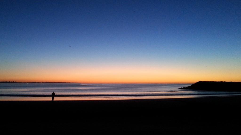 Beach solitude
