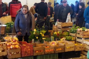 Farmers Market Lady