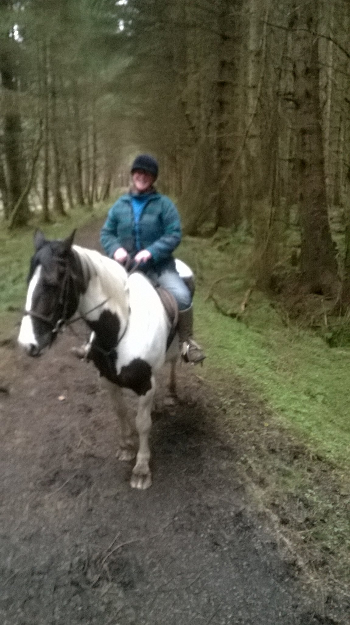 Riding through The Bonny Glen, Donegal