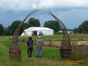 Wecome Gate at the Permaculture Gathering
