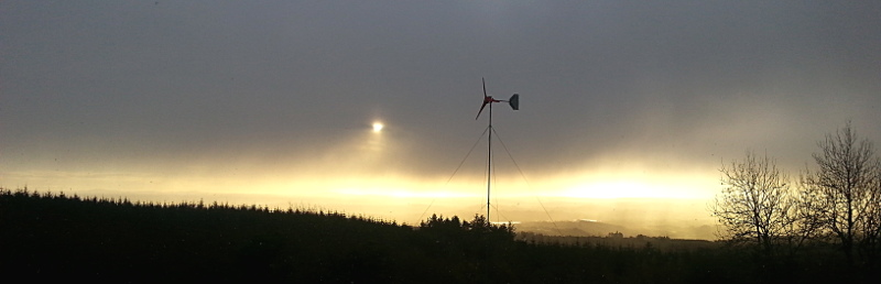 Eirbyte's wind turbine
